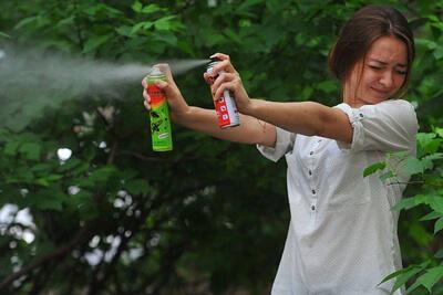 Репелленты помогает защититься от укусов комаров